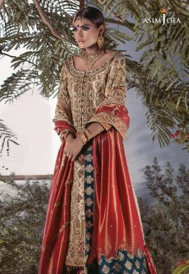 Asim Jofa Bridal Lehenga Designs For Pakistani Brides 2017 5