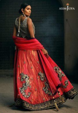Asim Jofa Bridal Lehenga Designs For Pakistani Brides 2017 6