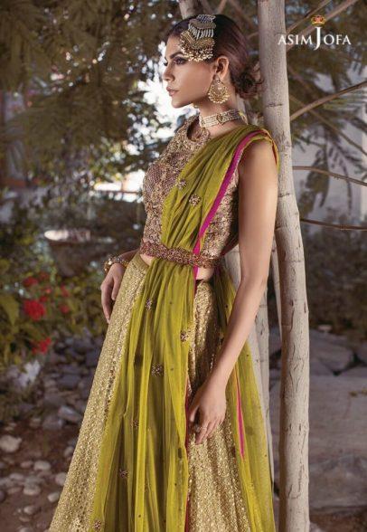 Asim Jofa Bridal Lehenga Designs For Pakistani Brides 2017 9