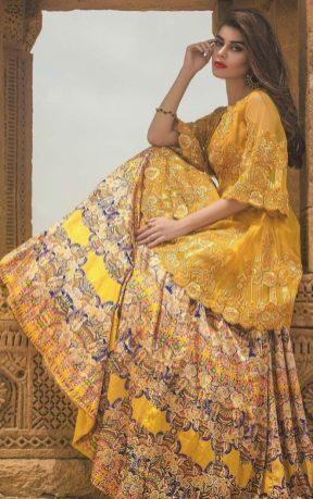 Tena Durrani Summer Bridal Lehenga Formal Collection 2017 11