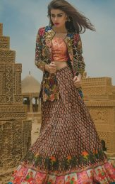 Tena Durrani Summer Bridal Lehenga Formal Collection 2017 3