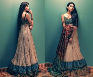 Tena Durrani Summer Bridal Lehenga Formal Collection 2017 4