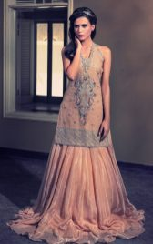 Tena Durrani Summer Bridal Lehenga Formal Collection 2017 5