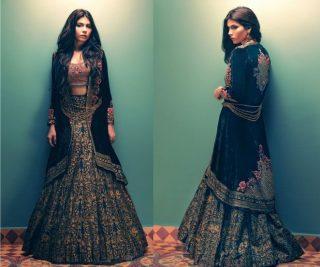 Tena Durrani Summer Bridal Lehenga Formal Collection 2017 6