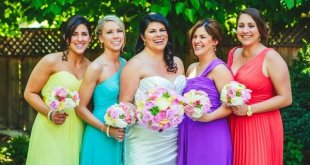 Rainbow Bridesmaid Dresses Full Of Colors And Love
