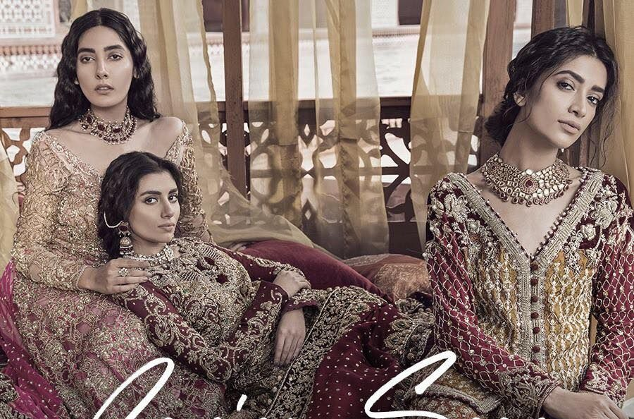 Tabassum Mughal Luxury Bridal Formal Wear Collection 2018