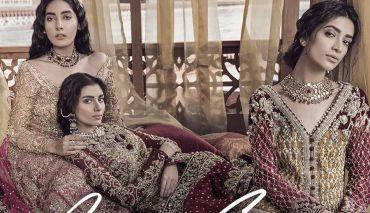 Tabassum Mughal Luxury Bridal Formal Wear Collection 2018