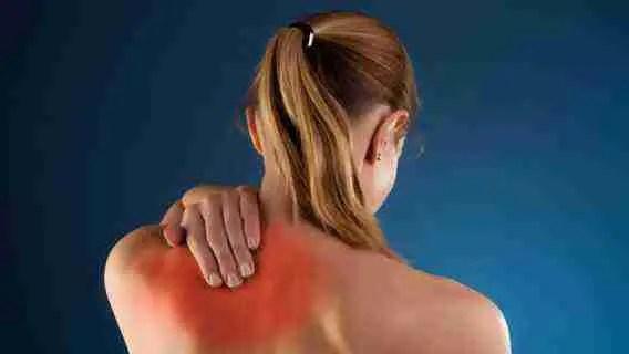 Upper Back Pain Between Shoulder Blades Relief