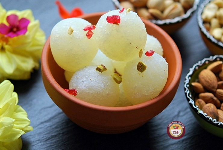 Rasgulla Recipe | YourFoodFantasy.com
