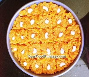 Carrot Barfi at YourFoodFantasy.com