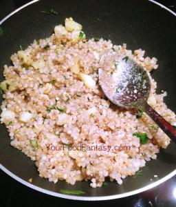 Sabudana khichdi recipeat-yourfoodfantasy.com by meenu gupta