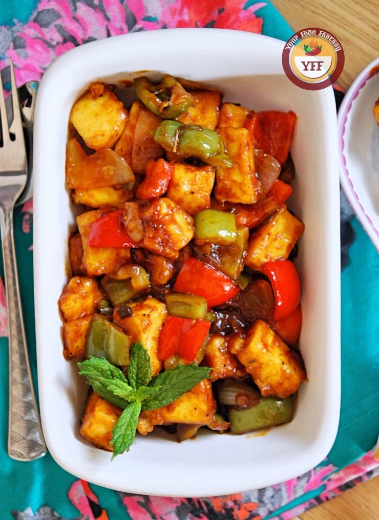 Chilli Paneer Recipe | Paneer Recipes | Your Food Fantasy