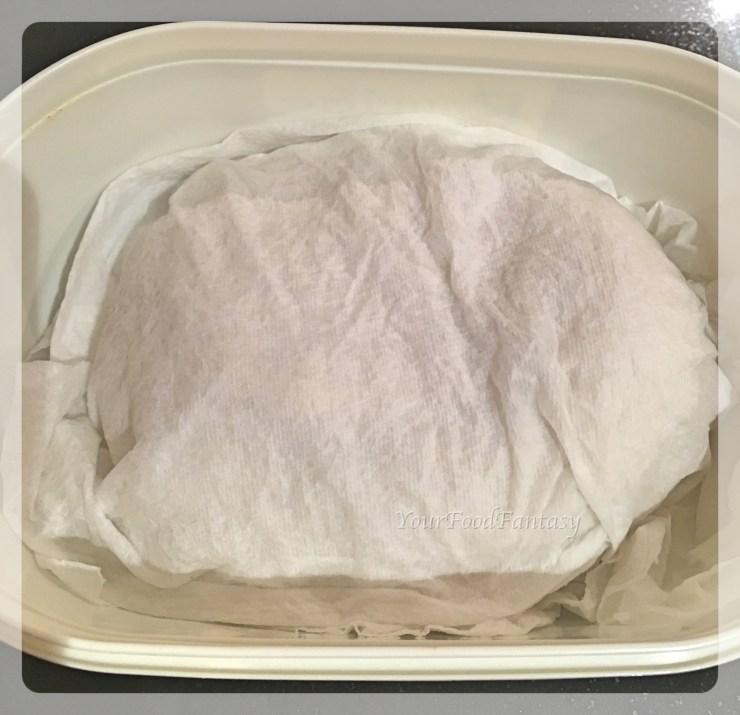Keeping gujiya dough moist | gujiya recipe at yourfoodfantasy
