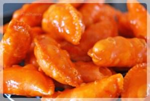 sugar coated colorful gujiya   gujiya recipe at yourfoodfantasy