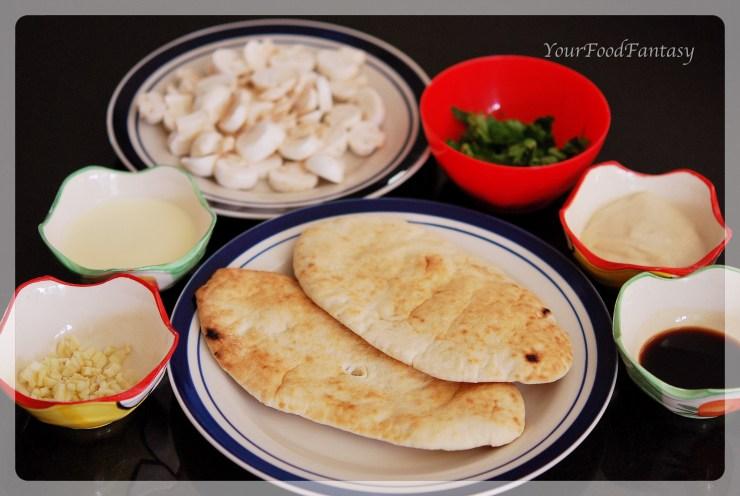 bruschetta con funghi preparation at yourfoodfantasy by meenu gupta