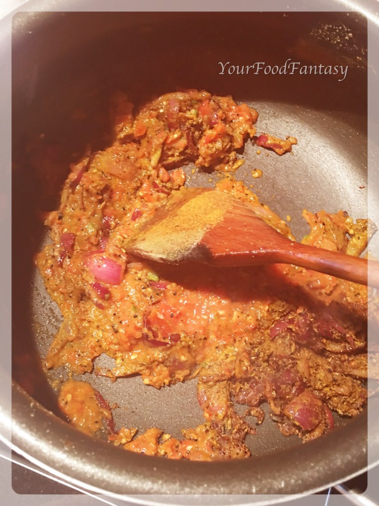 Preparing masala paneer | yourfoodfantasy.com by meenu gupta