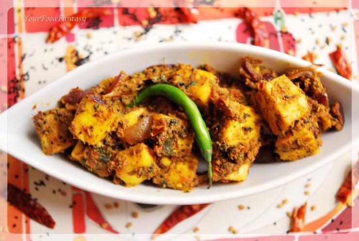 masala paneer recipe  yourfoodfantasy.com by meenu gupta