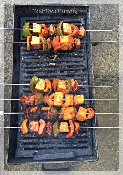 paneer tikka on tandoor | yourfoodfantasy.com by meenu gupta