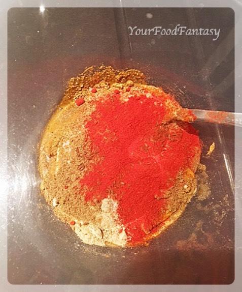 spices mixture for paneer tikka marinade | paneer tikka recipe at yourfoodfantasy.com