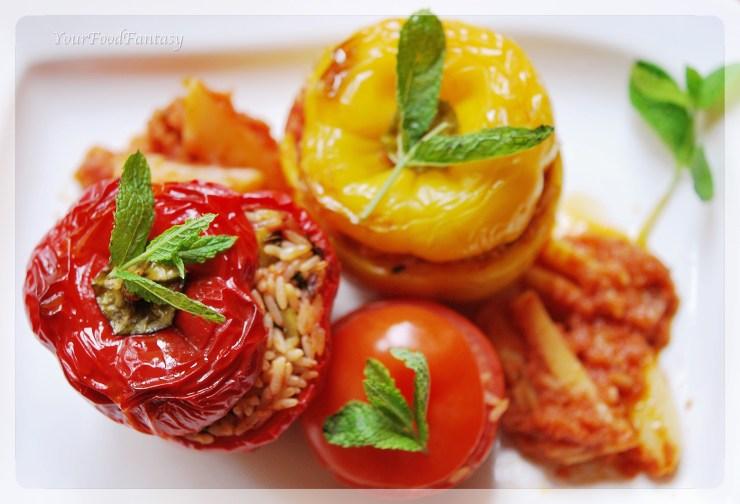 Gemista recipe | YourFoodFantasy by Meenu Gupta