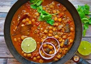 Chickpea Curry Recipe - Chole Recipe | Your Food Fantasy