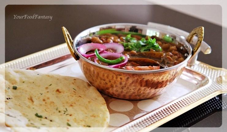 Punjabi Chole - Chickpea masala curry recipe | Your Food Fantasy