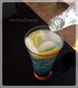 Blue Lagoon Drink   YourFoodFantasy.com