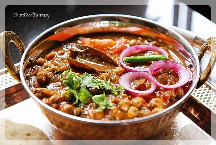 Punjabi chole amritsari chole your food fantasy for Amritsari cuisine
