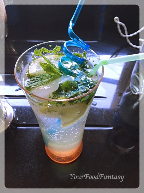 Virgin Mojito Recipe - yourfoodfantasy.com