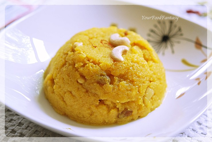Moong Dal Halwa | YourFoodFantasy.com by Meenu Gupta