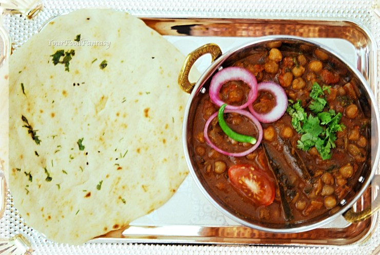 North Indian Chole recipe | YourFoodFantasy.com by Meenu Gupta