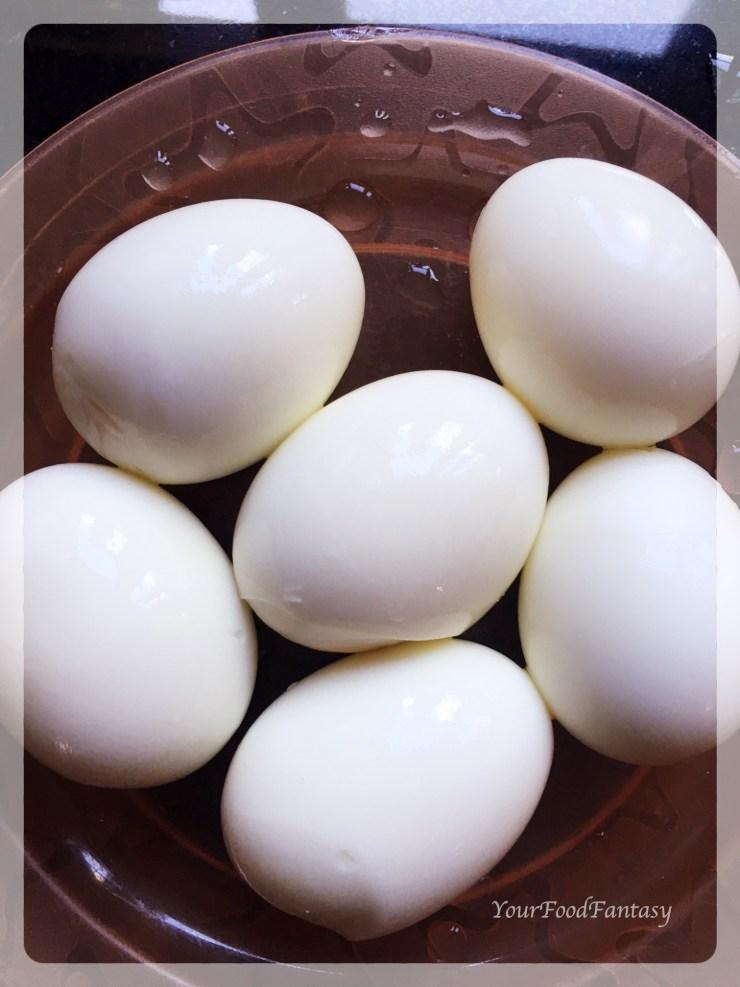 Boiled Eggs   Egg Curry Recipe   YourFoodFantasy.com