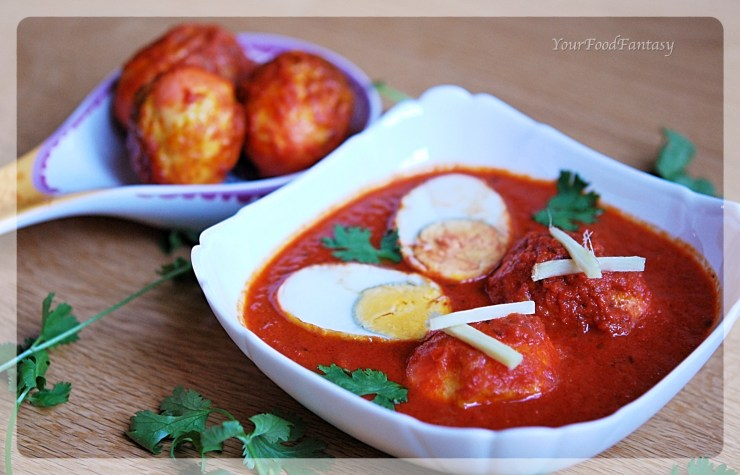 Egg Curry Recipe | Your Food Fantasy