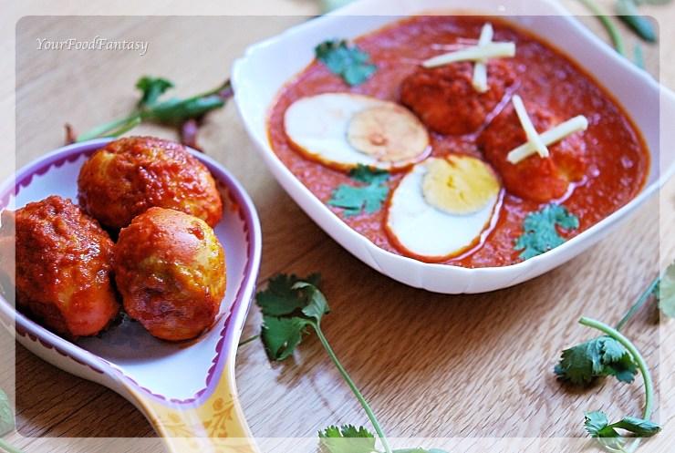 Punjabi Egg Curry   YourFoodFantasy.com