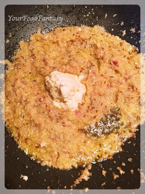 Ginger Garlic Paste Frying | Egg Curry Recipe | YourFoodFantasy.com
