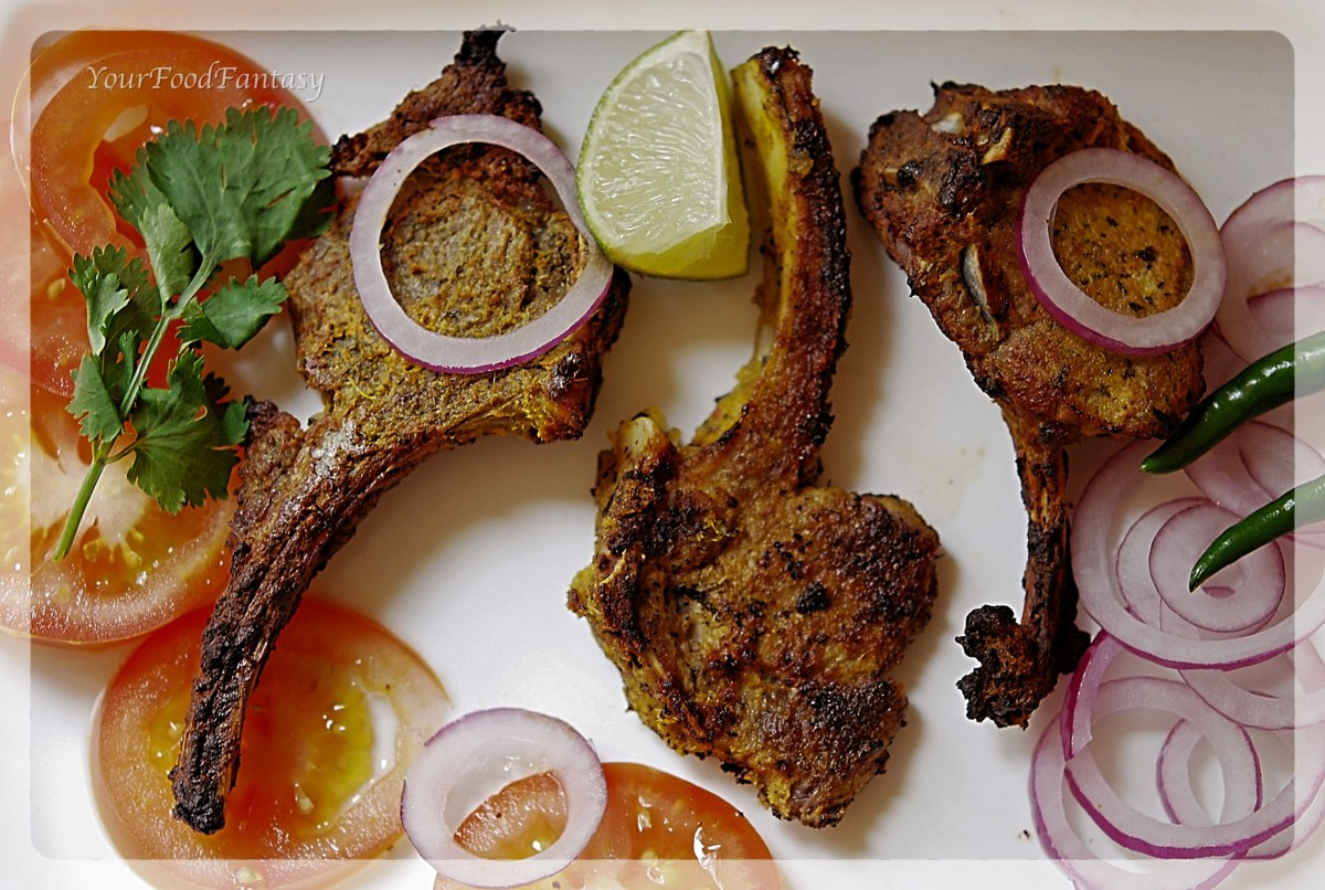 Lamb Chops / Mutton Chops Recipe
