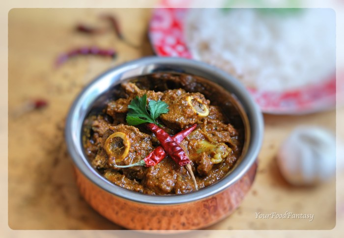 Achari Mutton | Achari Lamb Recipe | YourFoodFantasy.com