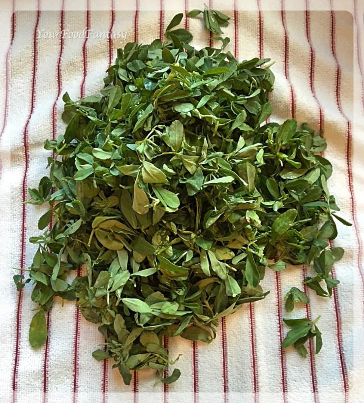 Methi Leaves | YourFoodFantasy.com