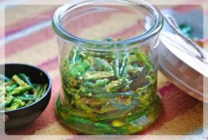 Instant Green Chilli Pickle Recipe - Your Food Fantasy