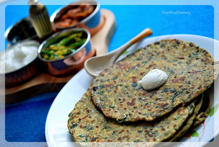 Methi Ka Paratha | YourFoodFantasy.com by Meenu Gupta