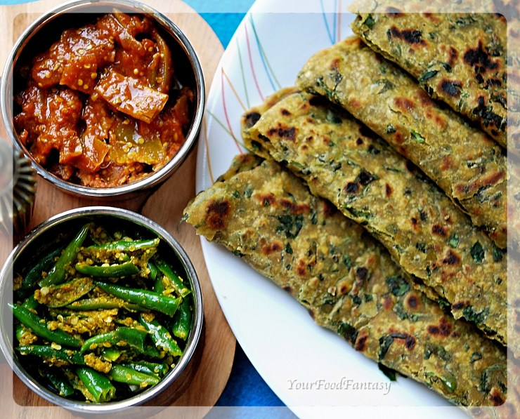 How to make Methi Paratha | YourFoodFantasy.com