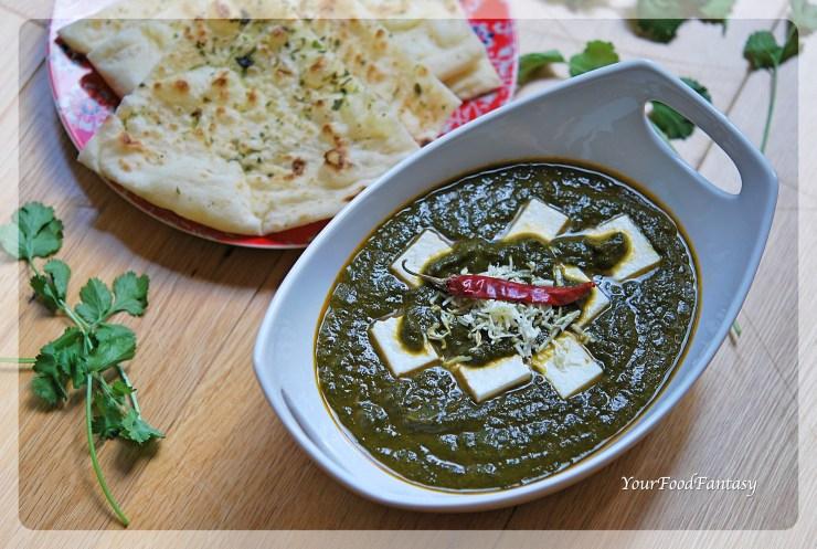 Palak Paneer Recipe   Your Food Fantasy