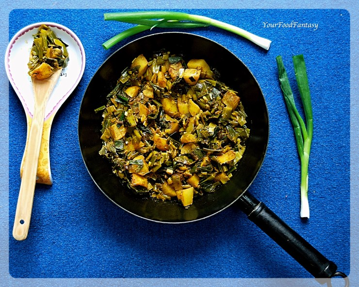Spring Onion Curry   Your Food Fantasy