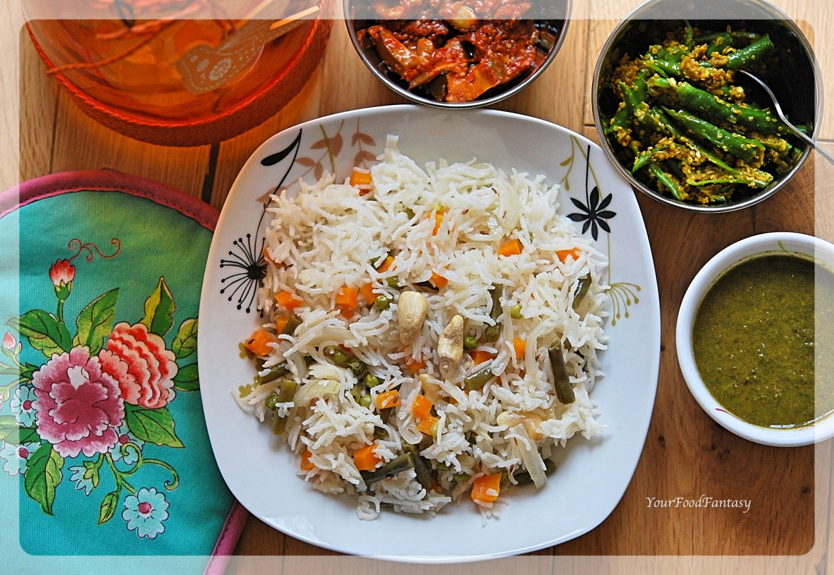 Easy Vegetable Pulao
