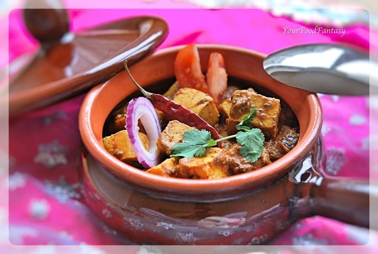 Achari Paneer Recipe | YourFoodFantasy.com by Meenu Gupta
