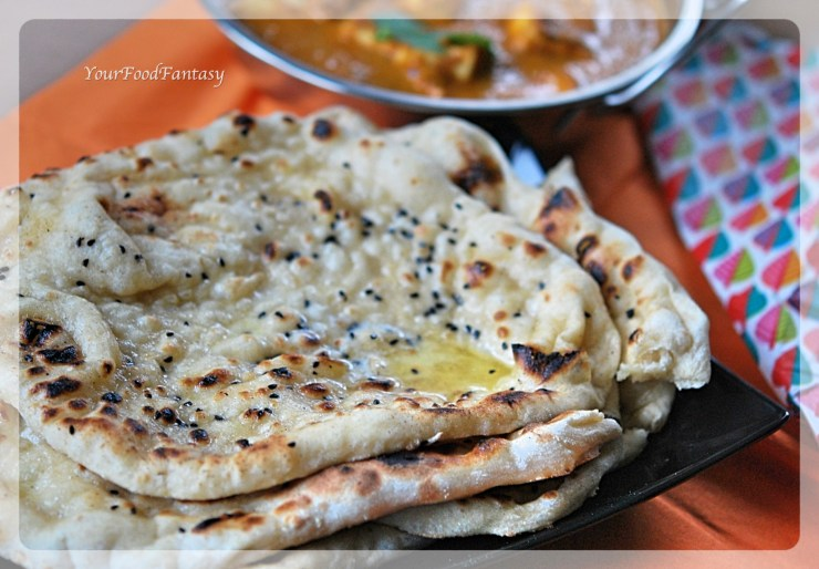 How to make Butter naan at home | Butter Naan Recipe