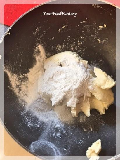 Mixing Paneer and Mawa | Kala Jamun Recipe