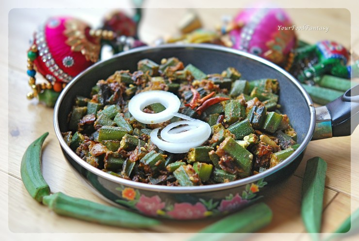 Punjabi Bhindi Masala Recipe - Dhaba Style | Your Food Fantasy by Meenu Gupta