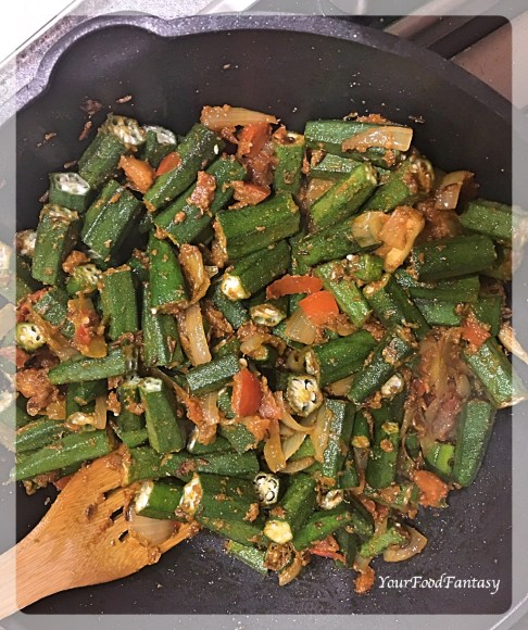 Bhindi Do Pyaza Recipe | Indian Curry | Your Food Fantasy