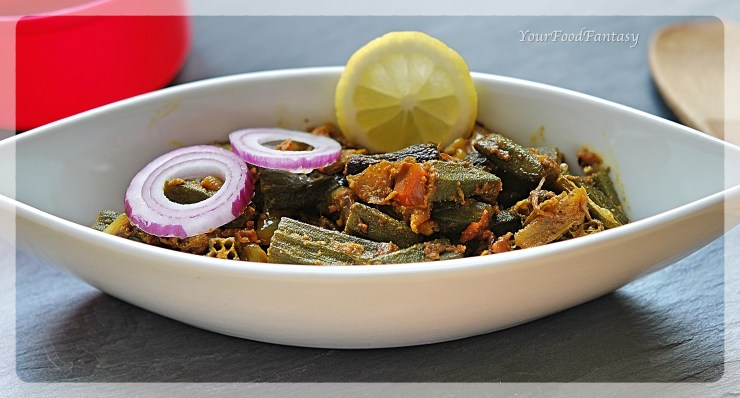 Bhindi Do Pyaza | Okra Recipe | YourFoodFantasy.com